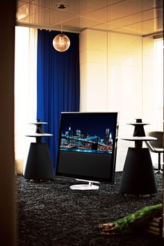 Sound Speaker, Bang And Olufsen, Decorative Accessories, Denmark, Interiors, Cool Stuff, Architecture, Table, Furniture