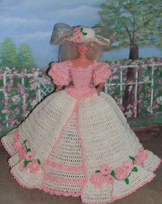 Häkeln Sie Mode Puppe Barbie Pattern 419 von JudysDollPatterns