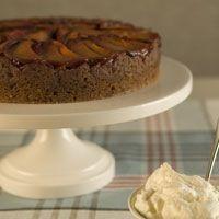 Plum Upside-Down Cake Recipe | PBS Food