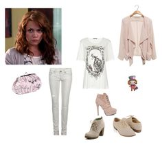 haley james scott by tiiti on Polyvore featuring Alexander McQueen, AllSaints, Forever 21, Sperry and Miss Budd