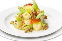 √ Walnuss-Käse-Salat mit Äpfeln