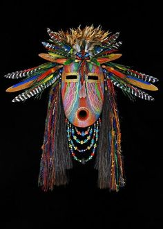 Rainbow Weaver mask
