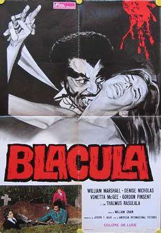 Dracula with William Marshall, #blaxploitation,album movie posters pinterest Mitch  Guzman https://www.pinterest.com/deathlok77/
