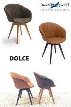 Eetkamerstoel Hogith grijs is een stijlvolle stoel voor in de ...