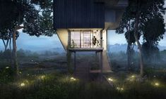 Video presentation at Architects meet in FuoriBiennale, Venice promoted by AIAC and PresS/Tfactory. Oteiza House is a design and visualization project by… 3d Architectural Visualization, Architecture Visualization, 3d Visualization, Rendering Architecture, Tree Render, Rendered Houses, Photorealistic Rendering, Exterior Rendering, Steel Structure