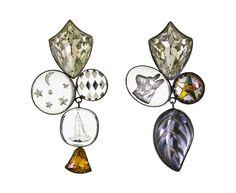 Grainne Morton Vintage Trinket Mismatched Heritage Earrings