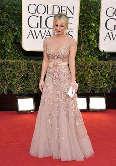 Best dressed at the Golden Globes @Luana Biddulph Biddulph Gabriella.com    ~ Kaley Cuoco Sweeting