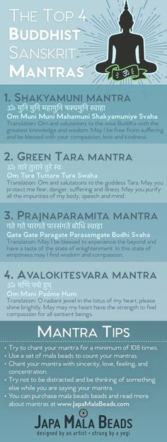 Mala Infographics Top Buddhist Mala Mantras There are hundreds of different sa. Mala Infographics Top Buddhist Mala Mantras There are hundreds of different sa… Mala Infograph Buddhist Meditation, Buddhist Prayer, Morning Meditation, Mindfulness Meditation, Mantra Meditation, Buddhist Teachings, Healing Prayer, Buddhist Symbols, Buddhist Art