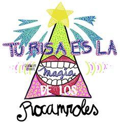 Los redondos by Guadalupe Ferrante, via Behance
