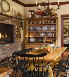 would love to have this room unfortunately not enough space so will use bits and pieces  from country sampler magazine