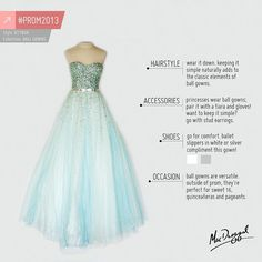 Going to #princess it up at #prom? Here's a few style tips to take with you!