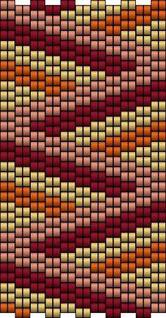 2 drop peyote pattern