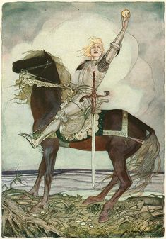 This is a real treat… an extremely rare 1923 edition of Grimm's Fairy Tales illustrated by Gustaf Tenggren.