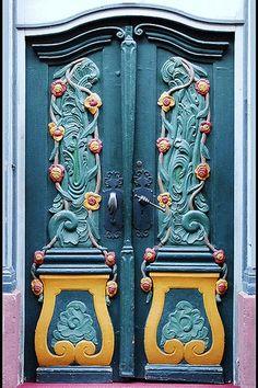Door - Art nouveau - Germany