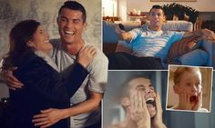 Ronaldo stars in bizarre Home Alone style advert                                                                                                                                                                                 More
