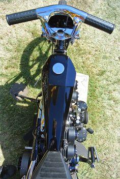 Harley Davidson Shovelhead by Oliver Jones of The Cut Rate