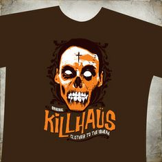 When you want the finest apparel for those special occasions, once must consider Killhaüs brand, fine clothiers. Fine Italian cotton, Korean printing inks and authentic Canadian artisan quality design. Haunted Attractions, Printing Ink, Paranormal, Special Occasion, Horror, Artisan, Korean, Halloween, Prints