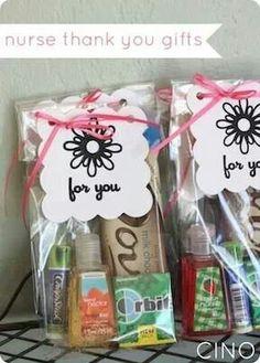 Nurse gift for when you deliver. Generosity