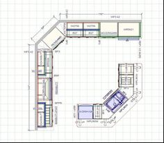 corner pantry dimensions and kitchen layouts - google search