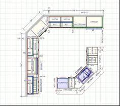 Amazing Kitchen Cabinet Layout Part 1 - Kitchen Cabinets Design Layout