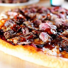 Steakhouse Pizza - Pioneer Woman