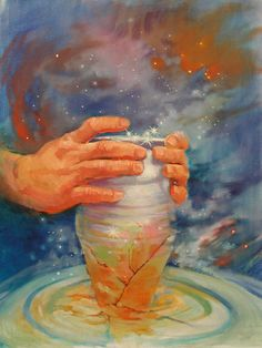 God choosing a broken vessel over a rich one!