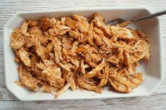 Pulled chicken i stegeso