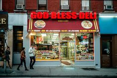 God Bless Deli. Kodak Portra 400, Leica M3, Leica Summicron DR 50mm f/2. © Jim Fisher