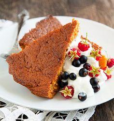 mrkvova torta zdrava Healthy Baking, Raw Vegan, Baked Goods, Banana Bread, Carrots, French Toast, Cooking, Breakfast, Sweet