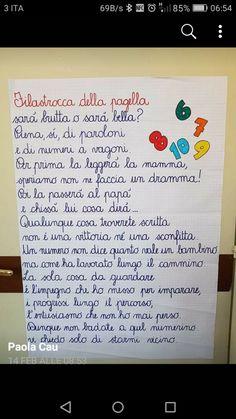 Filastrocche per ultimo giorno di scuola - Maestra Anita Teacher Style, My Teacher, I Love My Son, Primary School, Social Platform, Problem Solving, Kids And Parenting, Montessori, Back To School