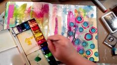 This video blows my mind.  Julie is so talented.  Art Journaling Fast Forward featuring matching stamps & stencils by Julie Balzer. Fast Forward video featuring matching stencils and stamp sets I designed for The Crafter's Workshop and Impression Obsession