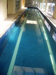 piscina olímpica aquecida