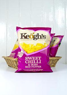 Keogh's Sweet Chilli & Irish Pink Pepper - YUM!
