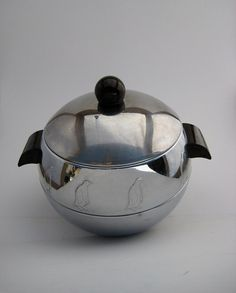 Mid Century Penguin Hot Cold Insulated Server Ice by reformdept, $20.00