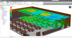 Conference room thermal comfort / HVAC | Autodesk Simulation Community