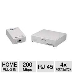 Actiontec HLE20043-01KP 200Mbps Powerline Ethernet - I think I need this...