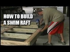 You can buy a Swim Raft Floating Dock Plan x with Great Northern Docks online today. Swim Raft Floating Dock Plan for Dock Builders x Lake Dock, Boat Dock, Cabin Plans With Loft, Pontoons, Floating Dock, Backyard Bar, Cottage Ideas, Rafting, Deck