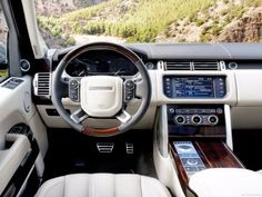 Range Rover interior for 2013