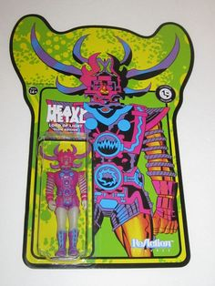 ReAction Figures: Heavy Metal - Lord of Light - Glow Edition (Loot Crate DX Exclusive) | Super7