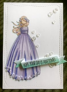 Stamping Bella – Zodiac Girls – Virgo Copic Markers ... Handmade birthday card ... Female ... EnchantINK New Zodiac, Handmade Birthday Cards, Copic Markers, Virgo, Stamping, Projects To Try, Christmas Ornaments, Female, Holiday Decor