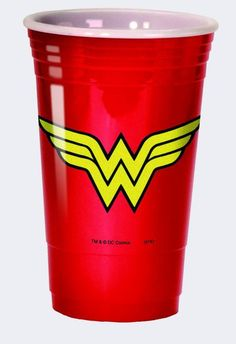 Wonder Woman Logo Party Cup