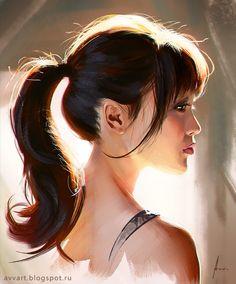 Portrait. light. study. Your attention are very welcome! ;)Follow me on: facebook : https://www.facebook.com/avv.alekseivinogradov instagram: https://www.instagram.com/avvart/ artstation: https://www.artstation.com/artist/avvart behance:...
