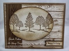 Try Stampin' On Tuesday: Challenge #152 - Well Worn