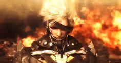 MGR | Tumblr Raiden Metal Gear, Metal Gear Rising, Jeff The Killer, Metal Gear Solid, Wattpad, Live Action, Music Bands, Aesthetic Anime, Game Art