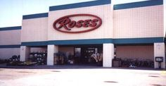 vintage Rose's Department Store Went shopping at the one in Goldsboro, NC.