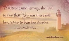 From 'Hearts Made Whole' by Jody Hedlund
