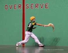 an overview of the jai alai ball in basque language Jai alai glossary of terms aja jai-alai in the basque language pelota is spanish for ball pelotari a jai-alai player.