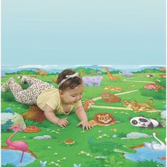 Tapete Infantil KIDSMAT 1,20 x 1,40 - Burigotto