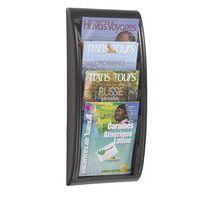 Store and display periodicals in the Quick Fit Systems 4 Pocket Letter . This storage system features metal construction and mounts to the wall for space-saving. School Furniture, All Schools, Cheap Online Shopping, Pocket Letters, Brochures, Mobile App, Wall Mount, West Indies