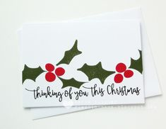 Image result for layered holly stamps